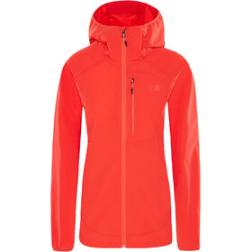 The North Face North Dome Stretch Wind Jacket Dame juicy red